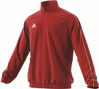 Adidas Core18 Presentation Jacket - Power Red/White