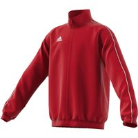Adidas Core18 Presentation Jacket - Youth - Power Red/White