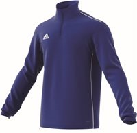 Adidas Core18 Training Top - Bold Blue/White