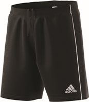 Adidas Core18 Training Short - Black/White
