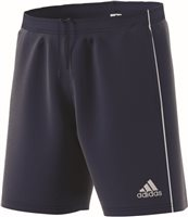 Adidas Core18 Training Short - Dark Blue/White