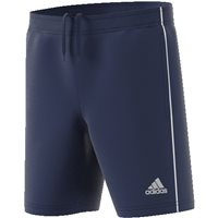 Adidas Core18 Training Short - Youth - Dark Blue/White