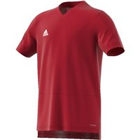 Adidas Condivo18 Training Jersey - Youth - Power Red/White