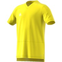 Adidas Condivo18 Training Jersey - Youth - Yellow/White