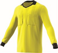 Adidas Ref18 Jersey L/S - Shock Yellow