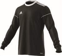 Adidas Squad 17 Jersey L/S - Black/White