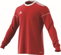 Adidas Squad 17 Jersey L/S - Power Red/White