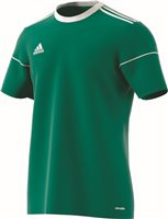 Adidas Squad 17 Jersey S/S - Bgreen/White
