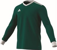 Adidas Tabela 18 Jersey L/S - Cgreen/White