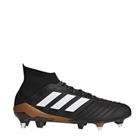 Adidas Predator 18.1 SG Soft Ground Boots - Black/White/SolarRed