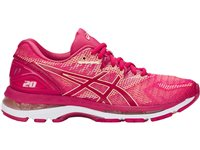Asics Womens Gel Nimbus 20 Running Shoes - Pink/Apricot