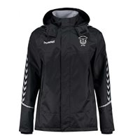 Hummel Kildare Town Authentic Charge All Weather Jacket Black- Adult