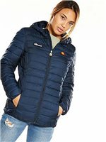 Ellesse Womens Lompard Padded Jacket - Navy