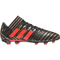 Adidas Nemeziz Messi 17.3 FG J Kids - Black/SolRed/Gold