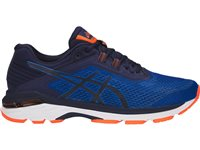 Asics Mens GT-2000 6 Running Shoes - Navy/Royal/Orange