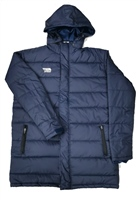 Briga Managers Coat (Detachable Hood) - Navy