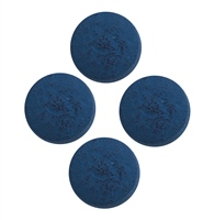 PowerGlide Standard Cue Tips 10mm 4 Pk - Blue