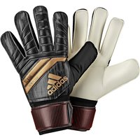Adidas Predator Fingersave Replique GK Gloves - Black/SolRed/Gold
