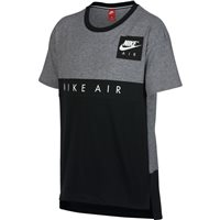 Nike Boys Nike Air Short Sleeve Top - Grey/Black