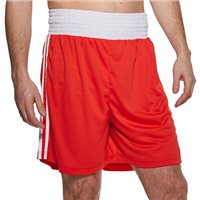 Adidas Boxing Boxing Shorts (Slim Fit) - Red/White