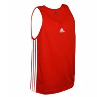 Adidas Boxing Boxing Vest Slim Fit Cut - Red/White