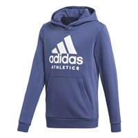 Adidas Boys Sports ID Hoodie - Navy/White