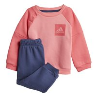 Adidas Infants SP Fleece Jogger Suit - Pink/Navy