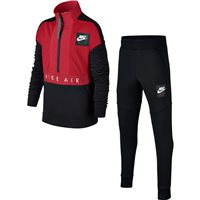 Nike Boys Nike Air Tracksuit - Black/Red