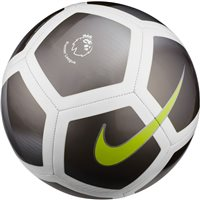 Nike Premier League Pitch Football - Grey/White/Volt