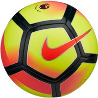 Nike Premier League Pitch Football - Yellow/Crimson/Navy