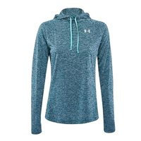Under Armour Womens Amour Tech LS Hoodie 2.0 - Green