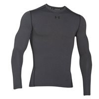 Under Armour Mens Cold Gear Amour Crew Top - Grey