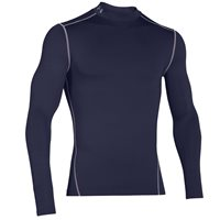 Under Armour Mens Cold Gear Armour Mock - Navy