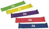 "UFE Urban Fitness UFE Resistance Band Set of 5 10"" - Various"