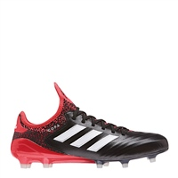 Adidas Copa 18.1 FG Football Boots - Black/Red/White