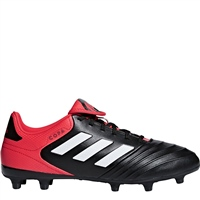 Adidas Copa 18.3 FG Firm Ground Boots - Black/Red/White