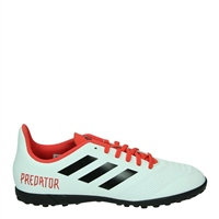 Adidas Predator Tango 18.4 TF J - Kids - White/Red/Black