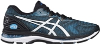 Asics Mens Gel Nimbus 20 Running Shoes - Island Blue/White