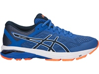 Asics Mens GT-1000 6 - Navy/Royal/Orange
