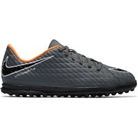 Nike JR Phantom x 3 Club Turfs - Kids - Grey/Orange/Black