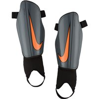 Nike Adult Charger 2.0 Shinguard - Grey/Orange/Black