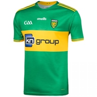 ONeills Donegal GAA Away Jersey 2019 - Green/Amber