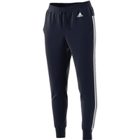 Adidas Womens Essentials 3S Tapered Pant - Navy/White