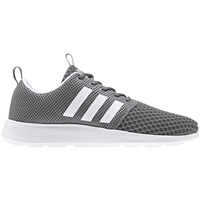 Adidas Mens Cloudfoam Swift Racer - Grey/White