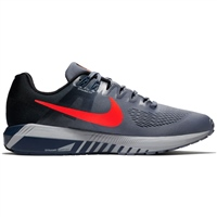 Nike Mens Air Zoom Structure 21 - Sky/Black/Crimson