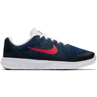 Nike Boys Free RN 2 (GS) - Navy/Red