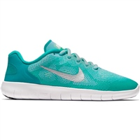Nike Girls Free RN 2 (GS) - Green/White