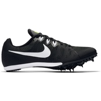 Nike Mens Zoom Rival M 8 Spikes - Black/White/Volt