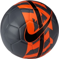 Nike React Soccer Ball - Black/Orange