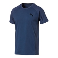 Puma Mens Evostripe Move T-Shirt - Navy